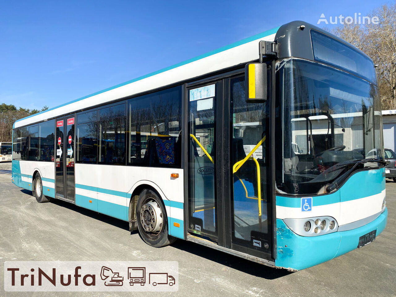 bus urbain SOLARIS Urbino 12 | 2 x vorhanden | Voith 854.3E | Rampe |